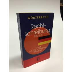 Wörterbuch Rechtschreibung - Deutsch - Buch