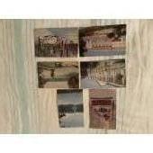 6 открыток, г. Пушкин, 1969