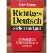 Richtiges Deutsch sicher und gut