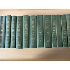 Н. А. Некрасов. Полное собрание сочинений и писем в 15 томах (комплект из 12 книг)