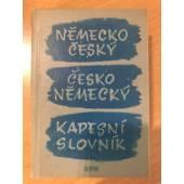 Německo - český česko - německý  kapesni slovník