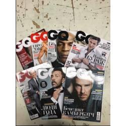 GQ 7 журналов за 2016 год