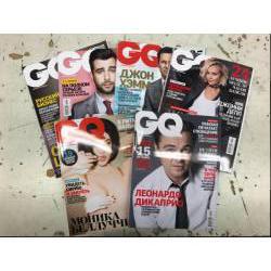 GQ 6 журналов за 2015 год