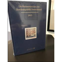 Postwertzeichen Jahrbuch 2015