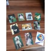 карманные календарики с изображением собак