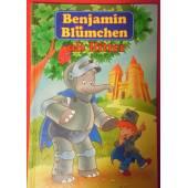 Benjamin Blümchen als Ritter.