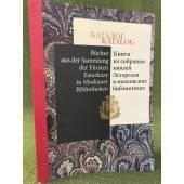 Каталог книги из собрания князей Эстергази в московских библиотеках