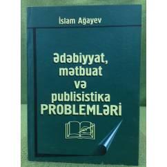 Ədəbiyyat.mətbuat və publisistika PROBLEMLƏRİ